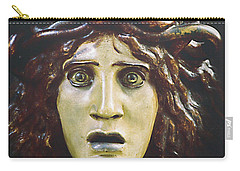 bad hair day at d'Orsay museum, Paris.  Carry-all Pouch by Joe Schofield