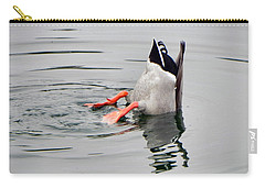 Carry-all Pouch featuring the photograph Bad Landing by Deb Halloran
