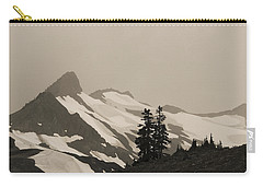 Fog In Mountains Carry-all Pouch