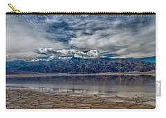 Badwater Reflection Carry-all Pouch by Cat Connor
