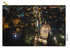 Baha'i Temple At Night Carry-all Pouch