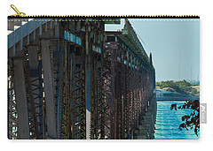 Bahia Honda Bridge Patterns Carry-all Pouch