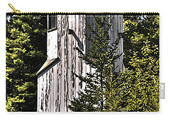 Carry-all Pouch featuring the photograph Baileys Harbor Range Lighthouse by Deborah Klubertanz