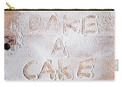 Bake A Cake Carry-all Pouch
