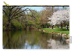 Baker Park Carry-all Pouch by Patti Whitten