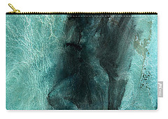 Carry-all Pouch featuring the drawing Balance With Mood Texture by Paul Davenport