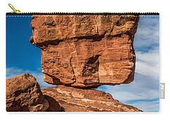Balanced Rock Garden Of The Gods Carry-all Pouch by Paul Freidlund