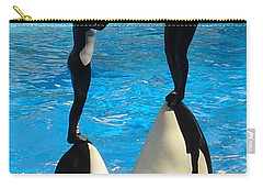 Carry-all Pouch featuring the photograph Balancing Act by David Nicholls