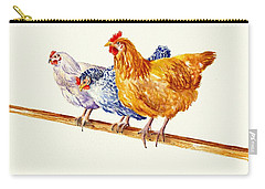 Balancing Chickens Carry-all Pouch