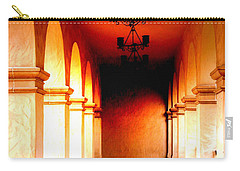 Balboa Park At Sunrise Xl Carry-all Pouch