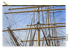 Carry-all Pouch featuring the photograph Balclutha by Kate Brown