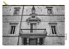 Balcony In Assisi Carry-all Pouch