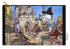 Balcony Of Princess Jasmine Carry-all Pouch by Reynold Jay
