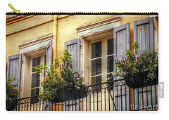French Quarter Balcony Carry-all Pouch