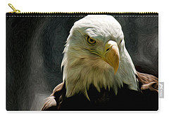 Bald Eagle Giving You That Eye Carry-all Pouch
