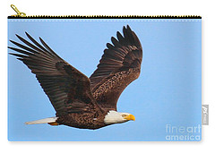 Bald Eagle In Flight Carry-all Pouch