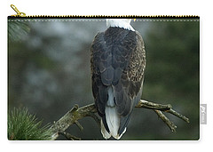 Bald Eagle In Tree Carry-all Pouch