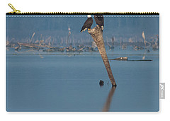 Bald Eagle Pair Carry-all Pouch