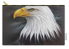 Bald Eagle Carry-all Pouch by Patricia Lintner