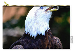 Carry-all Pouch featuring the photograph Bald Is Beautiful by Deena Stoddard