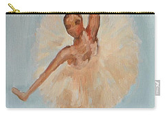 Ballerina Carry-all Pouch by Marisela Mungia