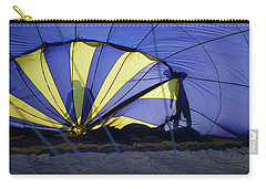 Carry-all Pouch featuring the photograph Balloon Fantasy 4 by Allen Beatty