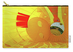 Carry-all Pouch featuring the photograph Balloon Fantasy 6 by Allen Beatty