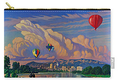 Ballooning On The Rio Grande Carry-all Pouch