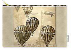 Balloons With Sepia Carry-all Pouch