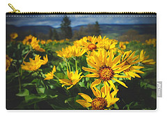 Balsamroot Of The Gorge Carry-all Pouch