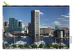 Baltimore Inner Harbor Panorama Carry-all Pouch