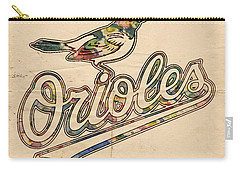 Baltimore Orioles Stylish Logo Carry-all Pouch