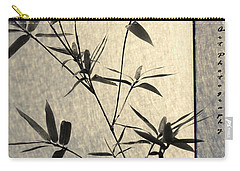 Bamboo Leaves Carry-all Pouch