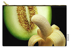 Banana And Honeydew Carry-all Pouch by Peter Piatt