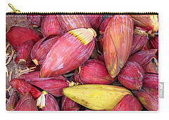 Banana Flowers Carry-all Pouch