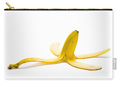 Carry-all Pouch featuring the photograph Banana Skin by Lee Avison