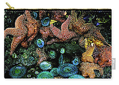Bandon Beach Oregon Pacific Tidal Pool Carry-all Pouch