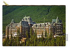Banff Springs Hotel Carry-all Pouch by Richard Farrington