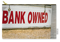 Bank Owned Real Estate Sign Carry-all Pouch