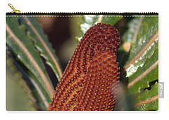 Carry-all Pouch featuring the photograph Banksia by Miroslava Jurcik