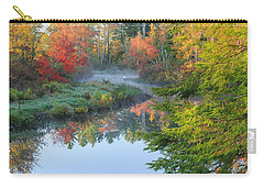 Bantam River Autumn Carry-all Pouch