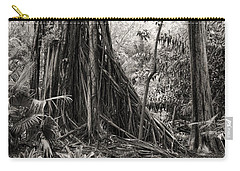 Strangler Fig And Cypress Tree Carry-all Pouch