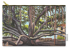 Banyan Tree Lahaina Maui Carry-all Pouch