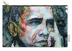 Barack Carry-all Pouch by Laur Iduc