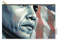 Barack Obama Artwork 2 B Carry-all Pouch by Sheraz A