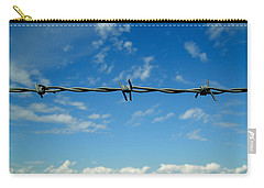Barbed Sky Carry-all Pouch by Nina Ficur Feenan
