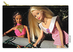Carry-all Pouch featuring the photograph Barbie Escapes by Nina Silver