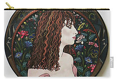 Barbra's Garden Carry-all Pouch