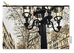 Barcelona - La Rambla Carry-all Pouch by Andrea Mazzocchetti