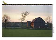 Barn At Dusk Carry-all Pouch
